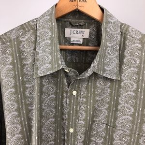 J. Crew Paisley Stripe Men's Shirt